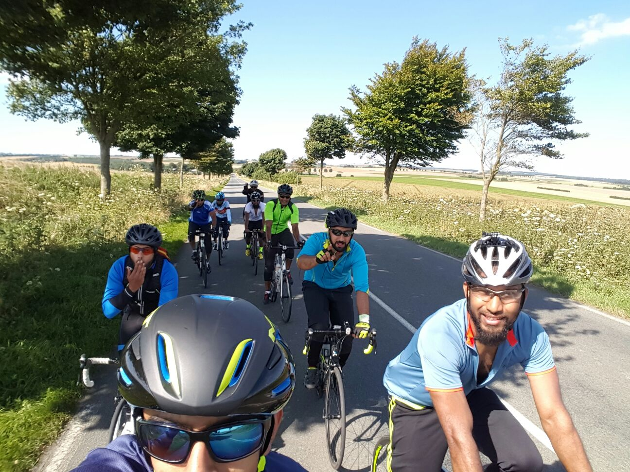 LONDON TO PARIS Charity Cycle Ride   Muslim Cyclists   AICC