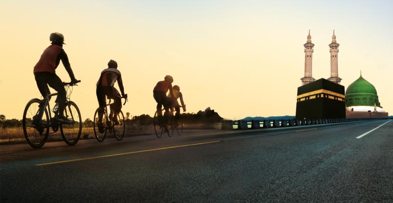 Cycle to Hajj | Muslim Cyclists | AICC