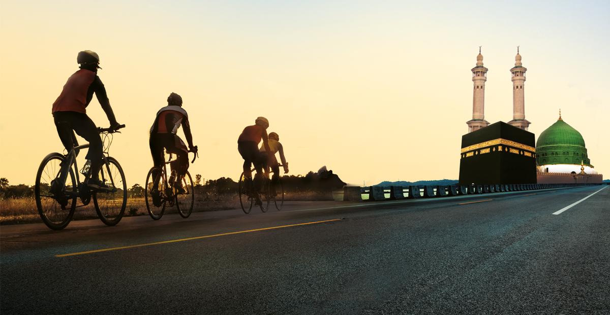 Cycle to Hajj   Muslim Cyclists   AICC