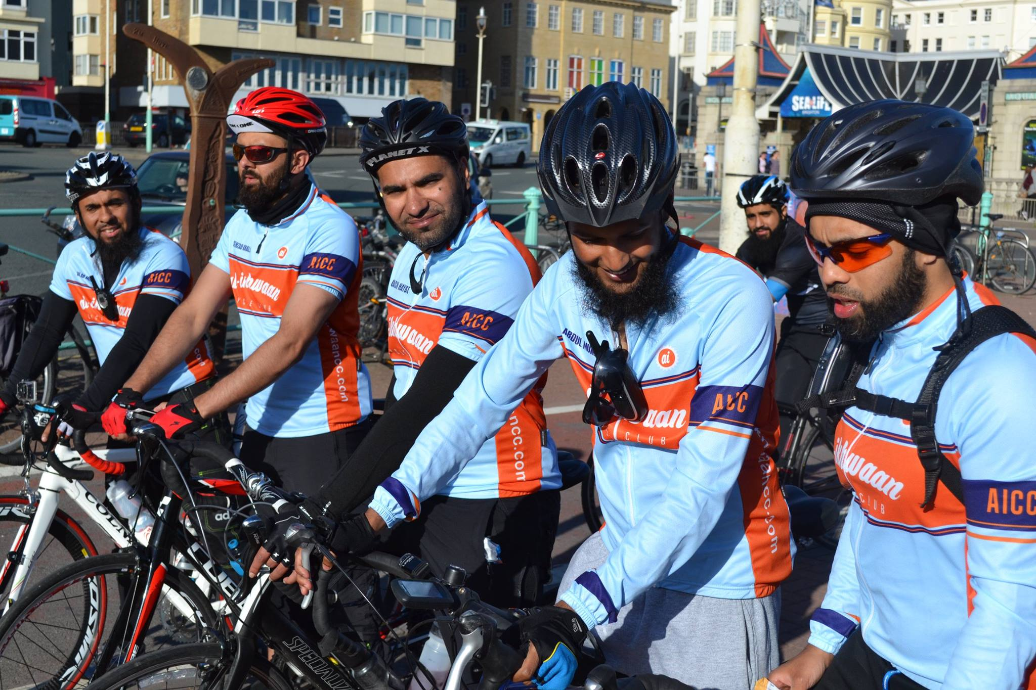 London to brighton Charity Cycle Ride   Muslim Cyclists   AICC