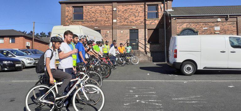 Yemen charity cycle ride | Muslim Cyclists | AICC