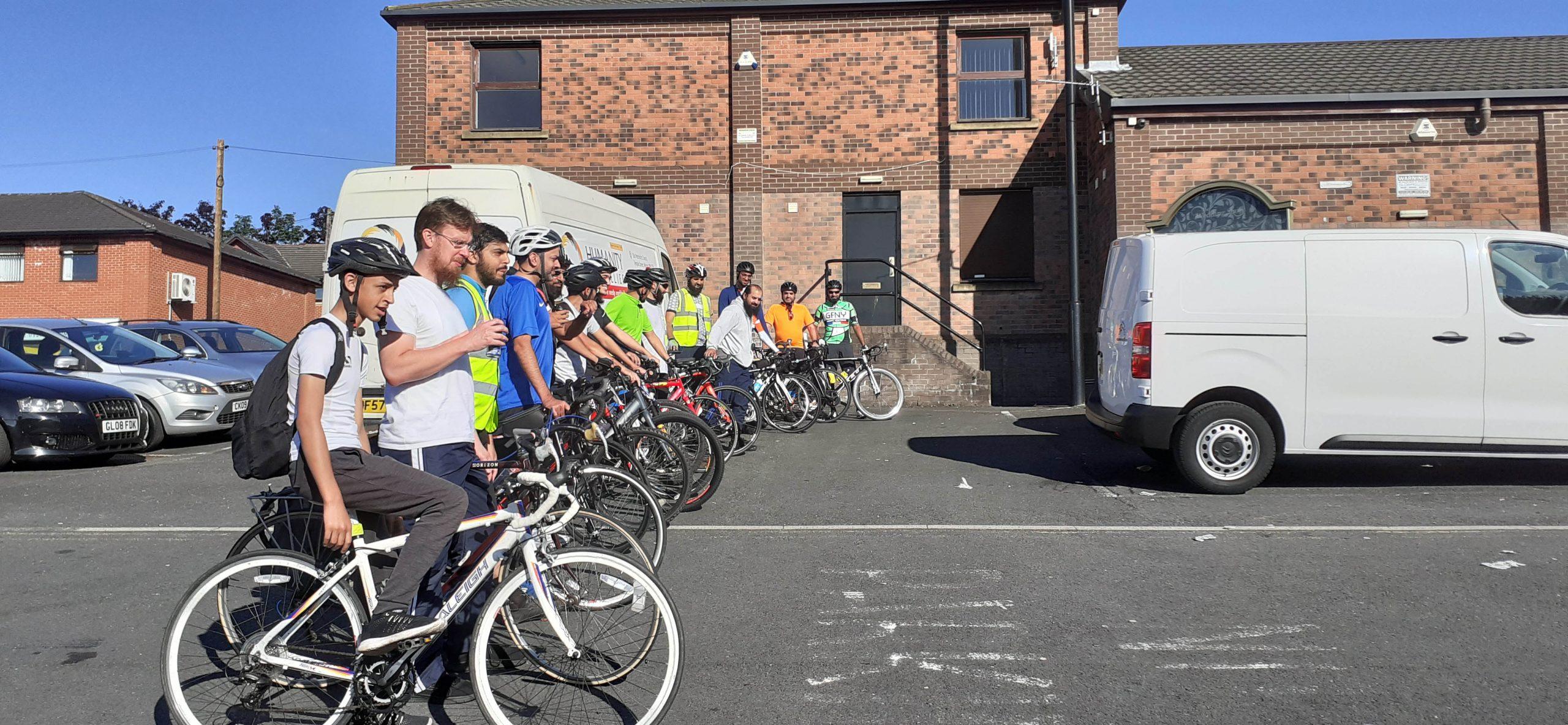 Yemen charity cycle ride   Muslim Cyclists   AICC