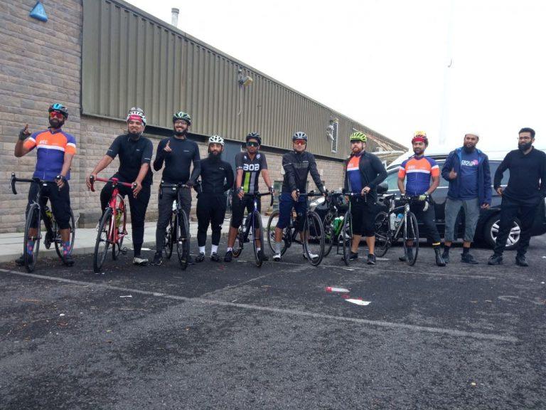 Lancashire to London Cycle Ride | Muslim Cyclists | AICC
